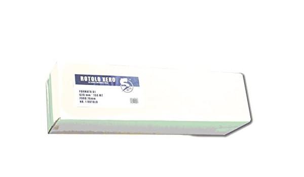 2pz rollo papel Plotter Xero A2 420 * 150 80 gr: Amazon.es: Bricolaje y herramientas
