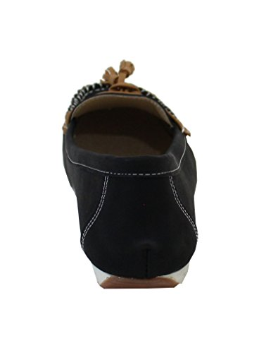 By Shoes -Mocasines para Mujer Negro