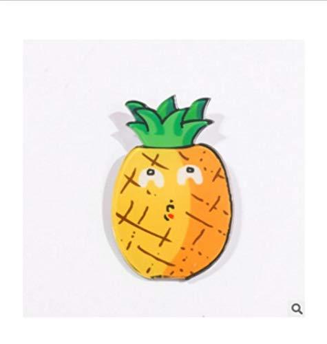 LeYoYo Cute Cartoon Fruit Material acrílico Imanes de Nevera ...