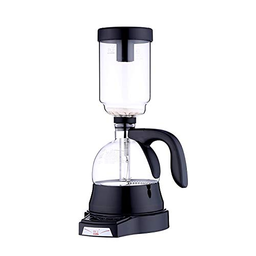 Water Hep Barista Tools 360ML Household Electric Coffee Syphon Pot Coffee Siphon Drip Vacuum Filter Coffee maker Percolator Cafetera Barista Tools Black by Water Hep (Image #1)