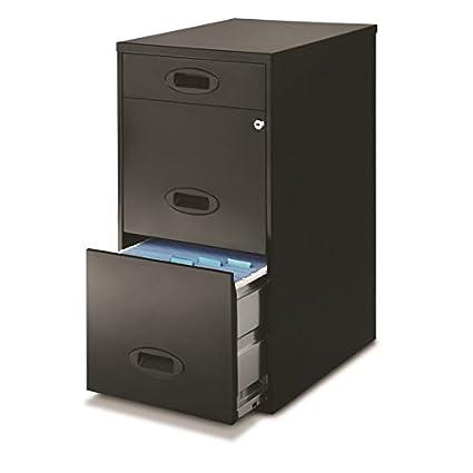 Genial Hirsh Space Solutions 18u0026quot; Deep 3 Drawer File Cabinet ...