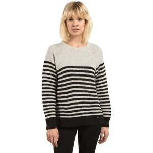 Volcom Women's Cold Daze Crew Neck Sweater, Swh, S by Volcom