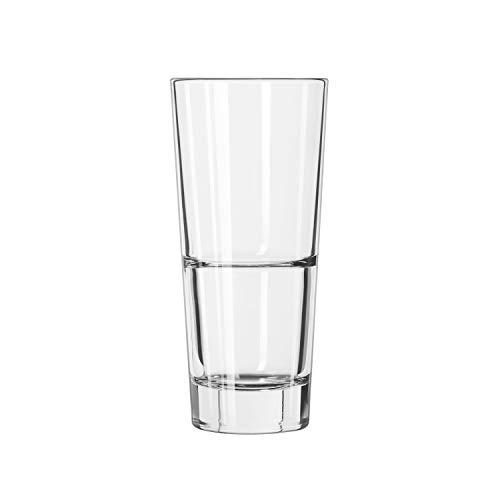 Libbey Glassware 15715 Endeavor Cooler Duratuff Glass, 16 oz. (Pack of 12) ()
