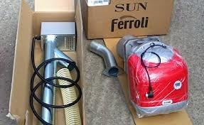Ferroli sun p - Quemador pellet sun p7 34,1kw: Amazon.es: Bricolaje y herramientas