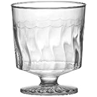 """Fineline Settings Flairware Clear 2 oz. One Piece Wine Glass 240 Pieces - """"Great for Wine Tastings"""""""
