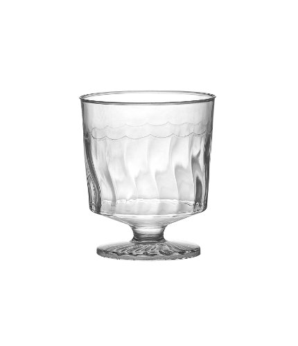 Fineline Settings Flairware Clear 2 oz. One Piece Wine Glass  240 Pieces -