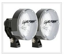 (Light Force HID140T RMDL Driving Light 140MM HID Twin Pack 12V 35W)