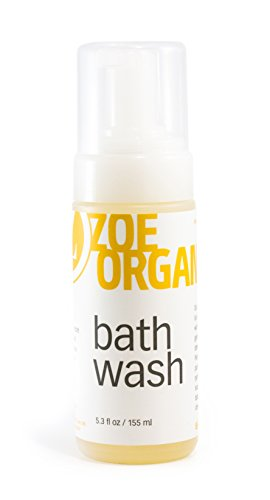 Zoe Organics - Bath Wash, Old World Castile Soap Made with Pure, Organic Oils That Gently Cleanse, Safe for All Ages, Safe for Babies, Vegan, Non-GMO and Cruelty Free (5 oz)