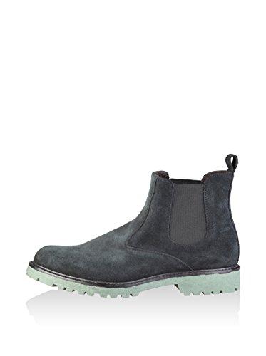 Made in Italia Herren Shoes Chelsea Boots Blau Grau áceo