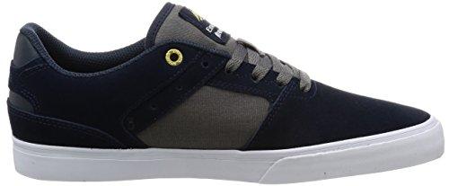 Emerica Reynolds Basso Vulc Skate Shoe Navy / Grigio