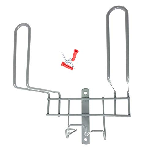 Mi Vidorra Deluxe Vacuum Metal Hose Storage Hanger for Built in and Canister Vacuum Systems