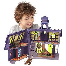 Character ScoobyDoo Mystery Mates Deluxe Playset Mystery Mansion