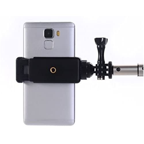 Samsung Galaxy Pixel Compatible with iPhone BlackBerry Universal Smartphone Bike Holder Adapter Kit Action Mount or GoPro Mount Accessory and HTC Compatible with Any Tripod Android