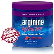Arginine Infusion 3 Jars Cardio Health 5,000mg L-arginine, 1,000mg L-citrulline, CoQ10, & AstraGin by Sante Global