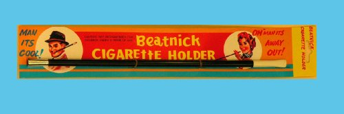 Beatnik Scene Large Cigarette Holder - One (Large Cigarette Holder)