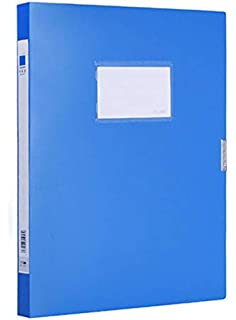 Archive Box Office Supplies Plastic Box, A4 File Boxes Plastic with Lid, Storage Folder