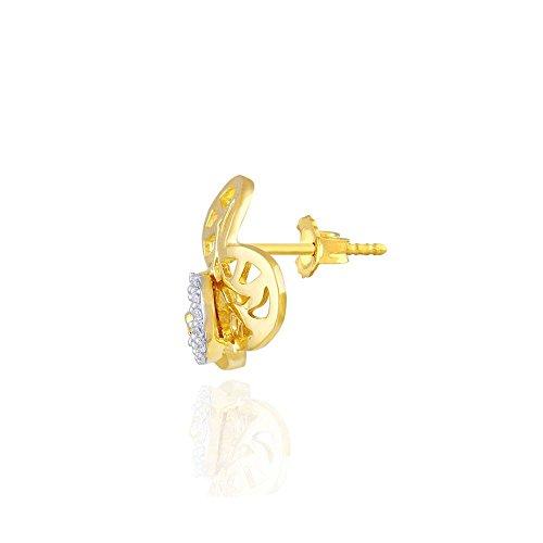 Giantti Diamant Pendentif Femme Collier (0.12CT, qualité HSI, Gh-colour)