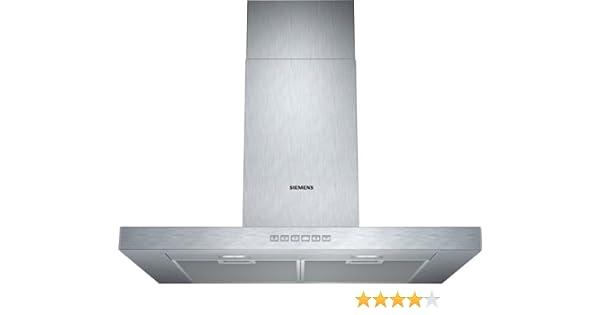 Siemens LC77BC532 - Campana (Recirculación, 690 m³/h, 58 Db, Montado en pared, LED, Acero inoxidable): 287.29: Amazon.es: Grandes electrodomésticos