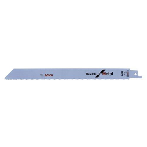 Bosch Pro Sä belsä geblatt Flexible for Metal zum Sä gen in Metall (5 Stü ck, S 1122 EF) 2608656020 Reciprosägeblatt Sägen & Zubehör: Sägeblätter