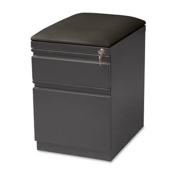 file cabinet seat lorell seat cushion top mobile file pedestal 15349
