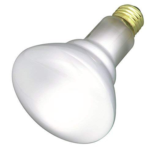 Satco 65BR30/FL Incandescent Reflector, 65W E26 BR30, Frosted Bulb [Pack of 6]