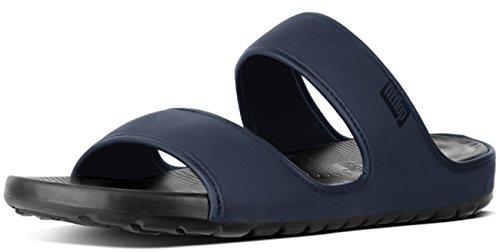 Double Navy 46 11 Neoprene Slide UK FitFlop Navy Midnight in Lido Sandals Midnight z8q0nU5wf