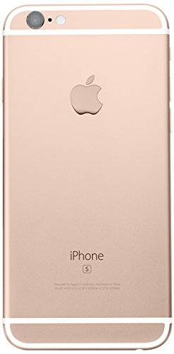 Apple iPhone 6s 128 GB US Warranty Unlocked Cellphone - Retail Packaging (Gold)
