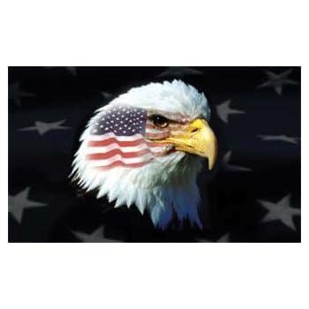 Amazon.com : 3ft x 5ft Decorative Flag - Patriotic Eagle : Outdoor ...