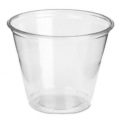 - DXECP9ACT - Dixie Crystal Clear Plastic Cups