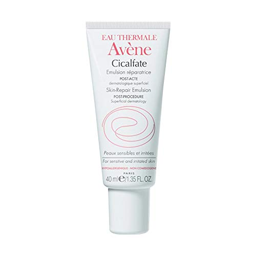 Eau Thermale Avene Cicalfate Post- Procedure, Soothing Skin Recovery Lotion, Hypoallergenic, Non-Comedogenic, 1.35 ()