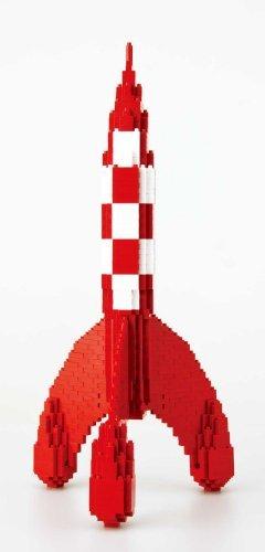 Nanoblock - Tintin - Tintin Rocket - 1100pcs Set by Kawada by Kawada