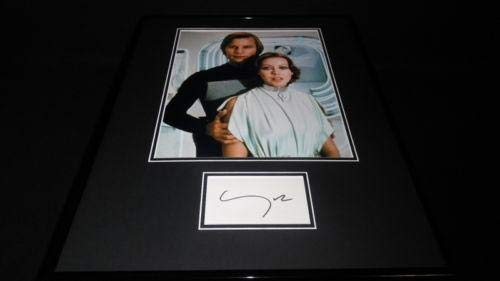 Michael York Signed Framed 16x20 Poster Photo Display Logan's Run
