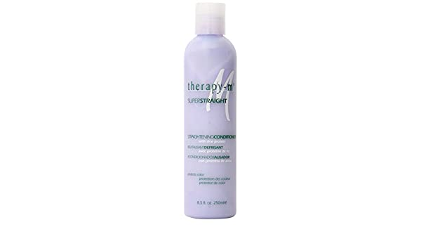 Amazon.com : Therapy-M Super Straight Straightening Conditioner, 8.5 Ounce : Standard Hair Conditioners : Beauty