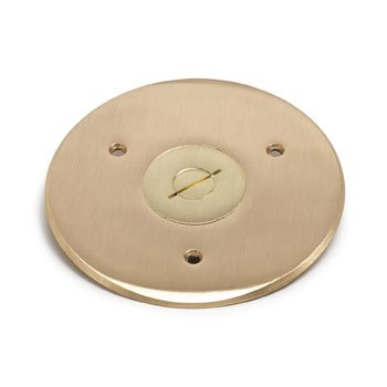 Lew Electric TCP-1 Floor Box Flanged Cover w/2