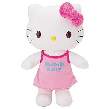8b32e5c7d Hello Kitty Dress Up Doll Plush Soft Toy: Amazon.co.uk: Toys & Games