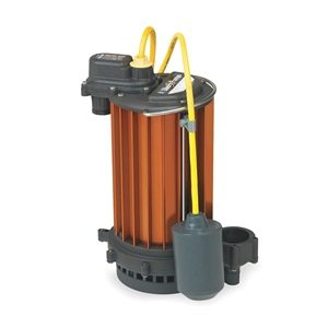 Sump Pump, Wide Angle Piggy-Back, 1/2 HP by Liberty