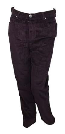 "Gloria Vanderbilt ""Amanda"" Classic Corduroy Pants Spellbound 8A"