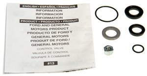 ACDelco 36-351350 Professional Power Steering Control Valve Seal Kit with Seals, Nut, and Washer