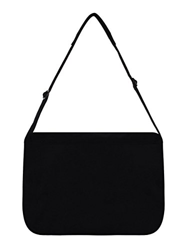 Unknown , Borsa Messenger  Unisex adulti Nero nero