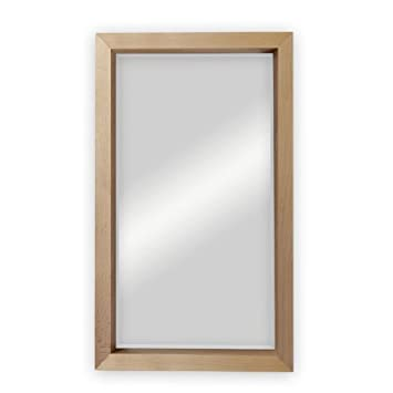 Wandspiegel Mit Holzrahmen Amazonde Küche Haushalt