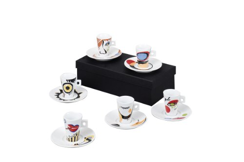Zeller 26505 Espressotassen Set 12-teilig Faces
