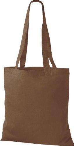 Shirtinstyle - Bolso de tela para mujer marrón chestnut