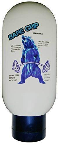 Bare Grip Liquid Chalk 4 Oz Grip Gym Chalk POWERLIFTING CROSSFIT DEADLIFT BODYBUILDING WEIGHTLIFTING POWERLIFTING