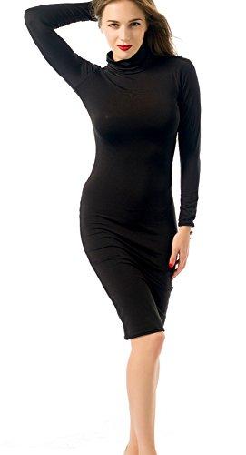Etui Kleid Trendy Damen schwarz 38 X C Schwarz schwarz 7pFwnt7q