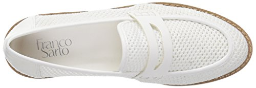 Franco Sarto Womens Celeste Loafer Flat White chXCM