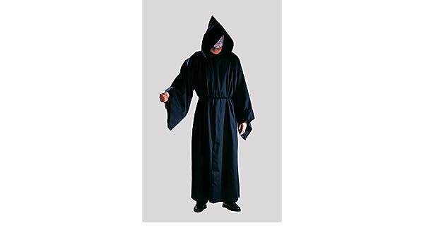 Verdugo hábito de monje Phantom túnica 100% colour negro de ...