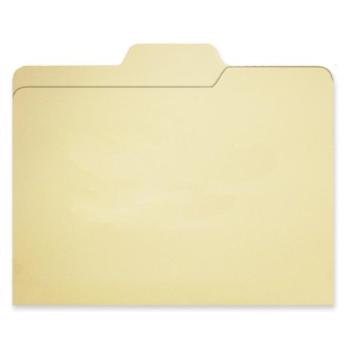 Find It File Folders, 1/3 Cut, 11 Point Stock, Letter Size, Manila, 80/Pack (FT07046)