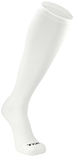 TCK Prosport Performance Tube Socks (White, Large)]()