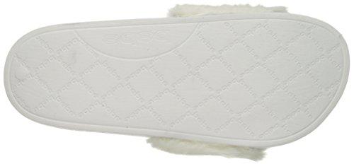 bebe Womens Furiosa Slide Sandal White 6mGD5MD4l