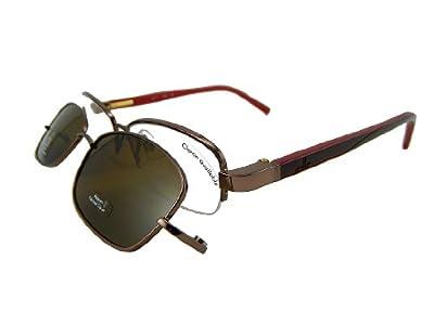 Calvin Klein CK CK5290Mag-Set Eyeglasses CK5290MAG-SET 699 Mahogany Demo 50 17 135